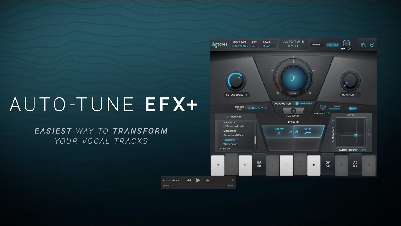 Video related to Auto-Tune EFX+