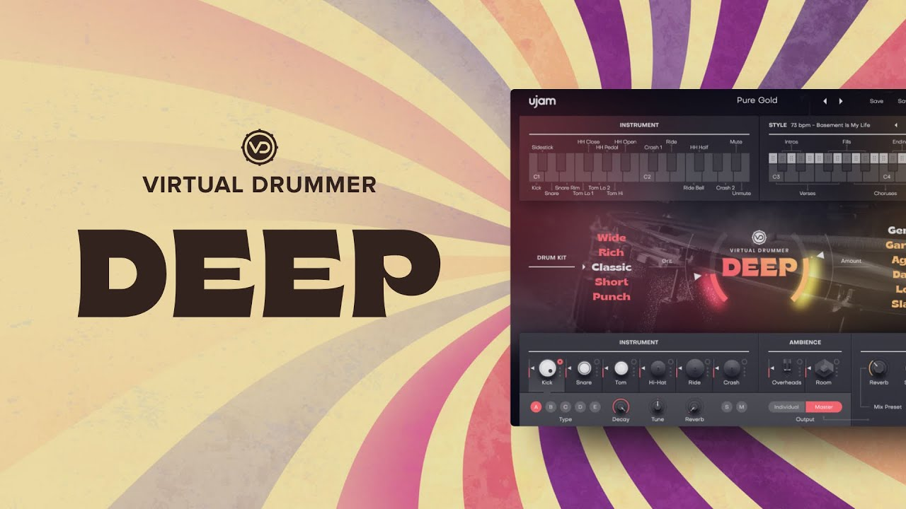 Video related to Virtual Drummer: DEEP