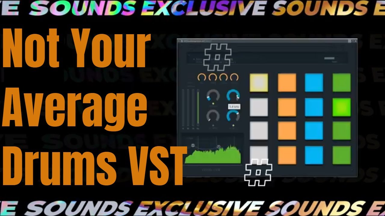 Video related to Not Your Average Drums VST