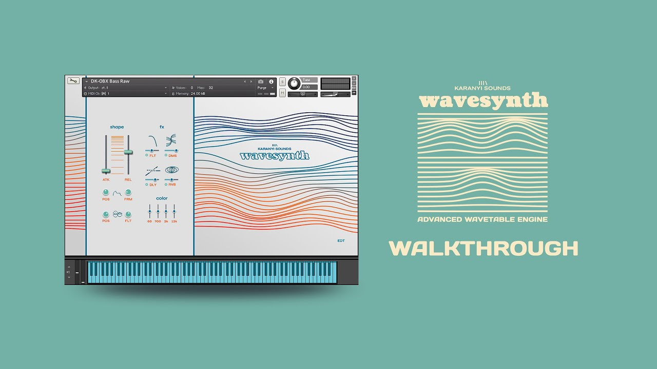 Video related to Wavesynth