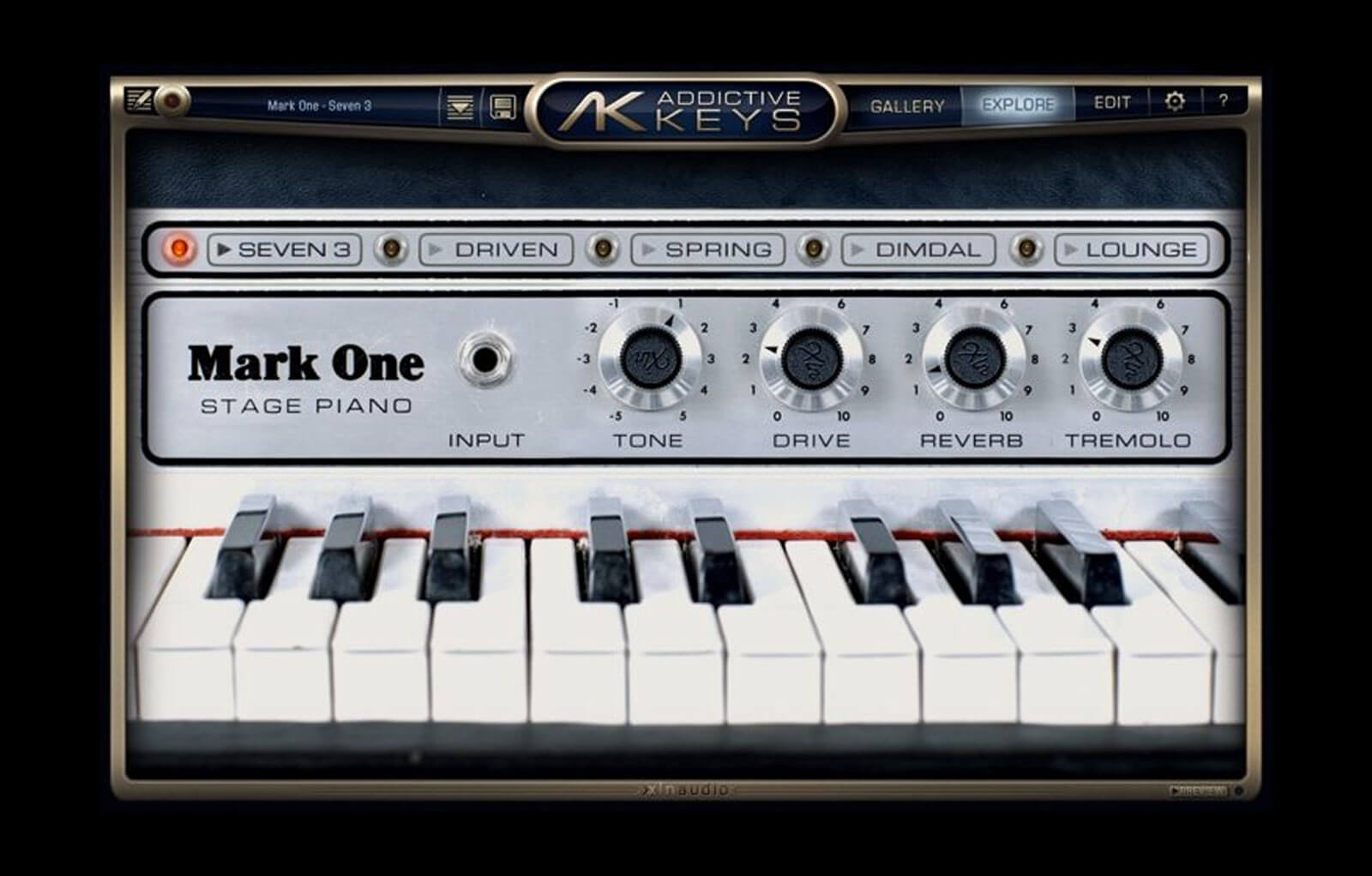 Addictive Keys: Mark One