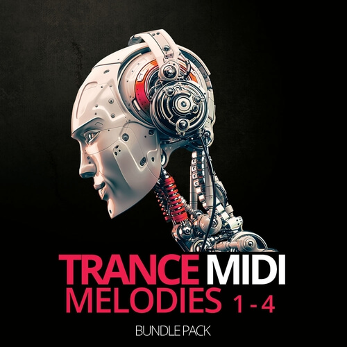 Trance Midi Melodies 1-4 Bundle Pack