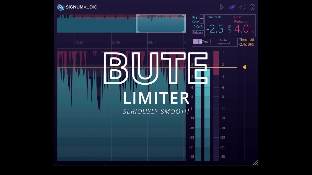 Video related to BUTE Limiter 2 Stereo