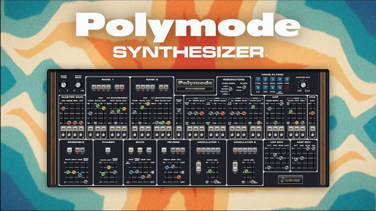 Video related to Polymode Synthesizer