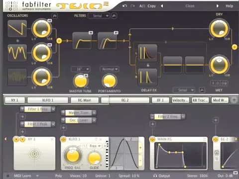 Video related to FabFilter Twin 2