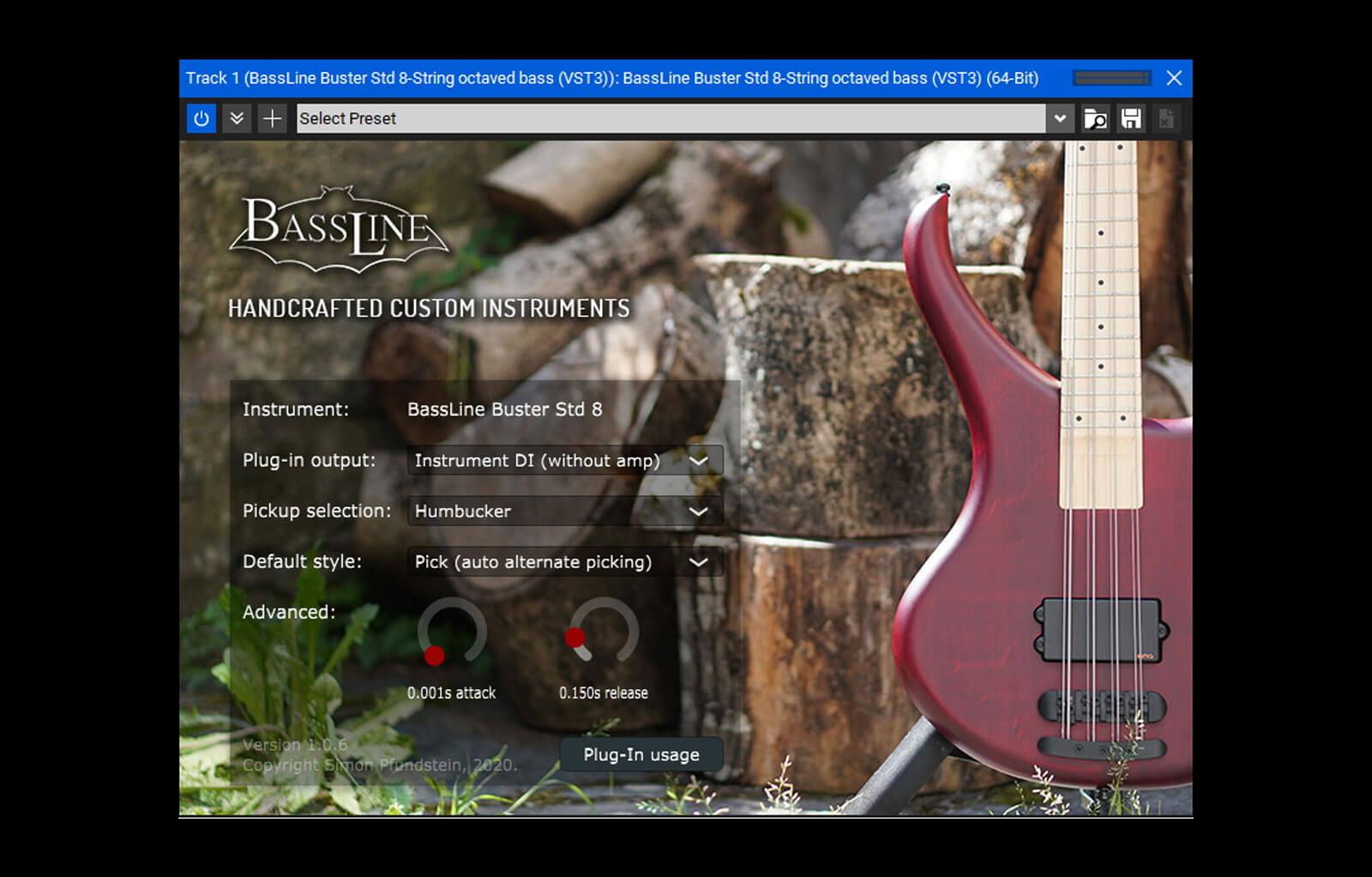 BassLine Buster Std 8