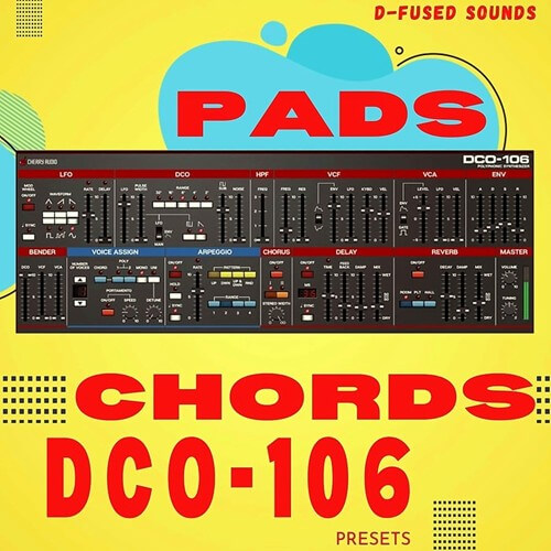 Pads & Chords for DCO 106