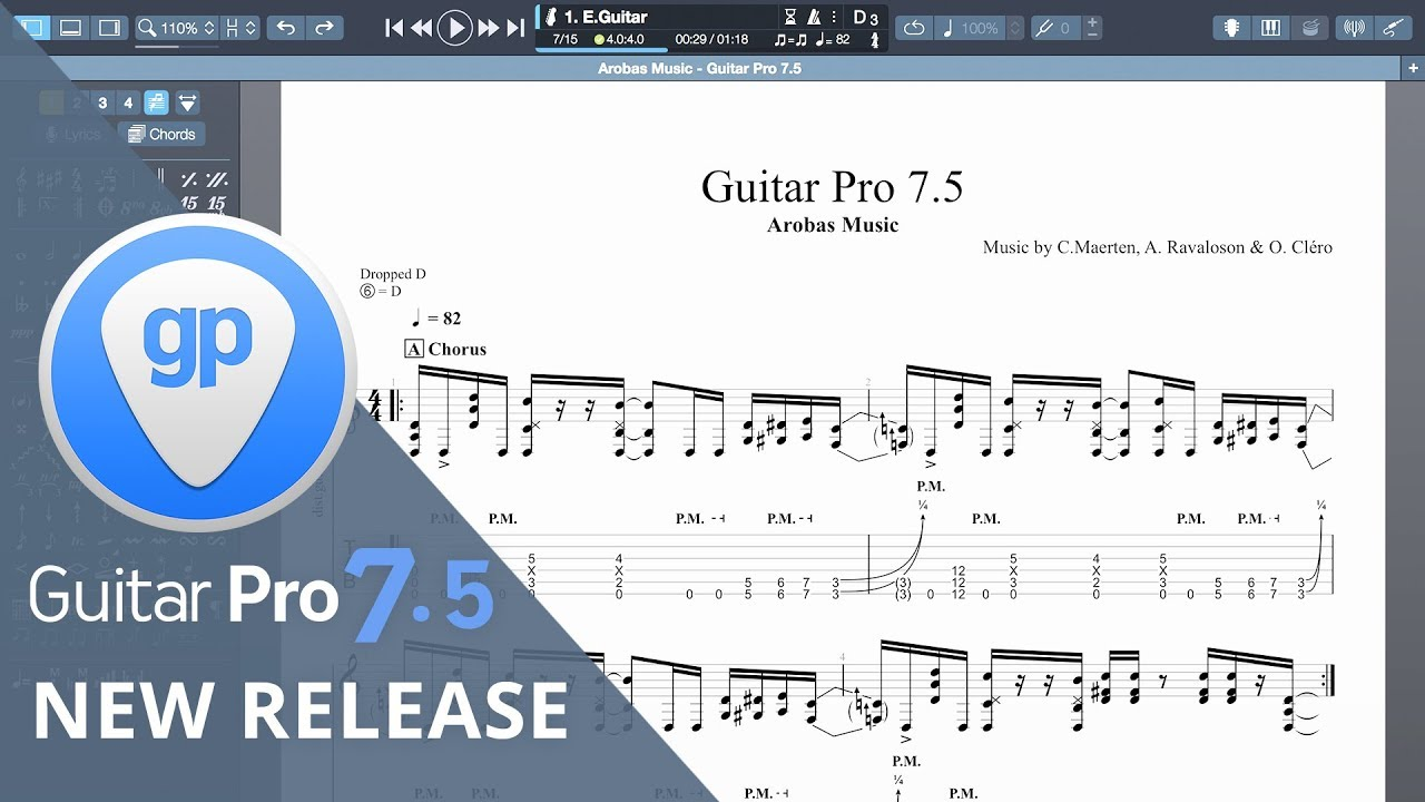 Video related to Guitar Pro 7.5