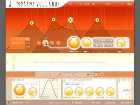 Video related to FabFilter Volcano 2