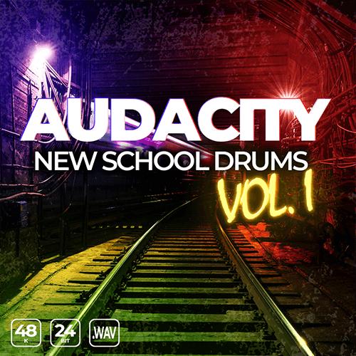 Audacity New School Drums Vol. 1