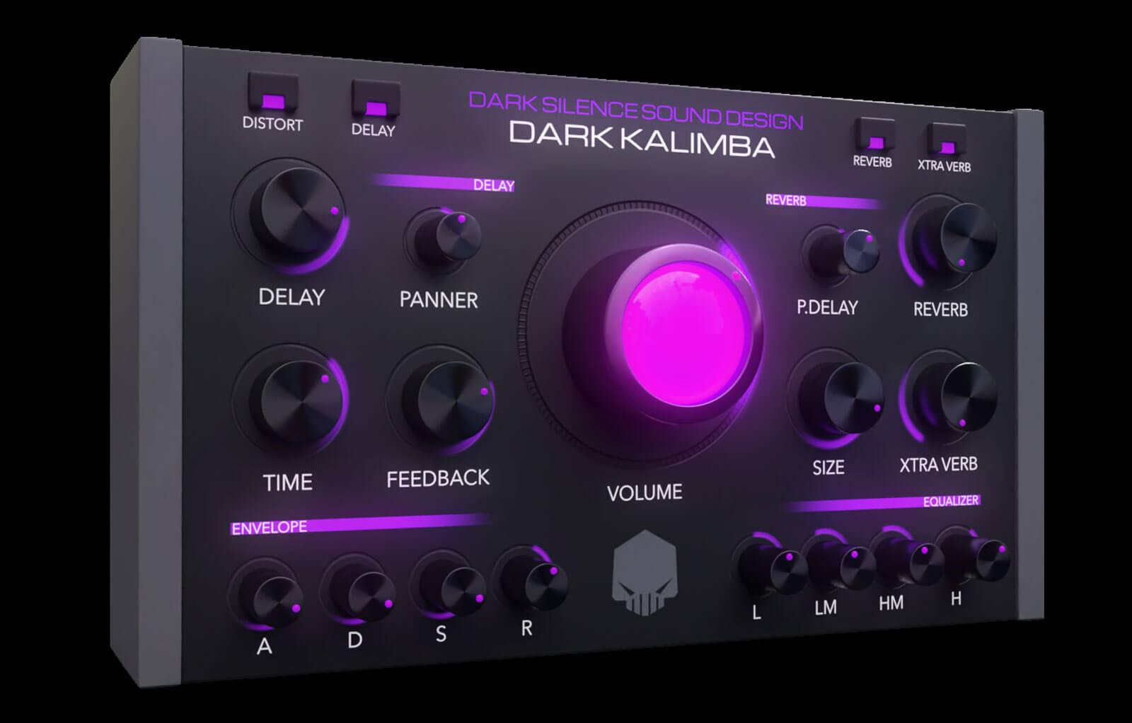Dark Kalimba (Kontakt)