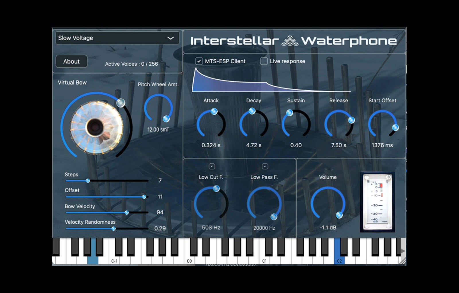 Interstellar Waterphone
