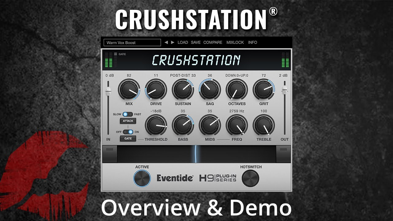 Video related to CrushStation