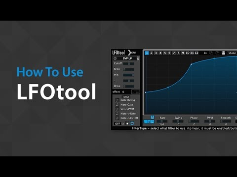 Video related to LFO Tool