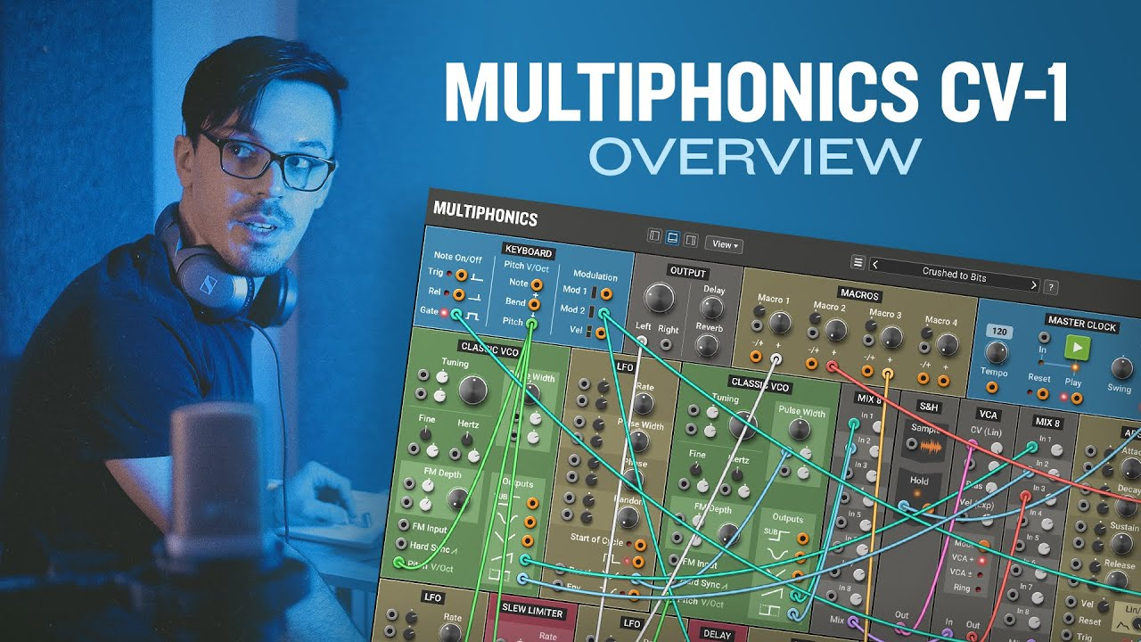 Video related to Multiphonics CV-1