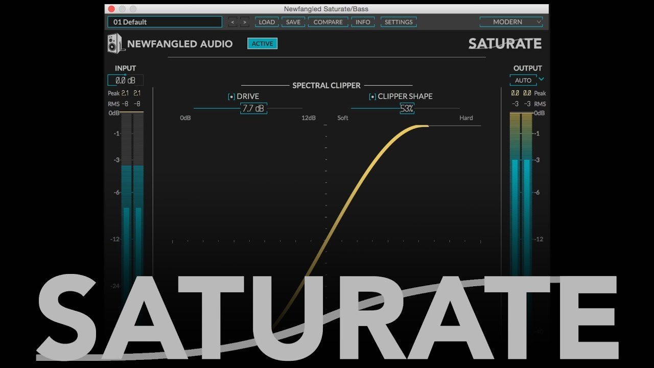 Video related to Saturate