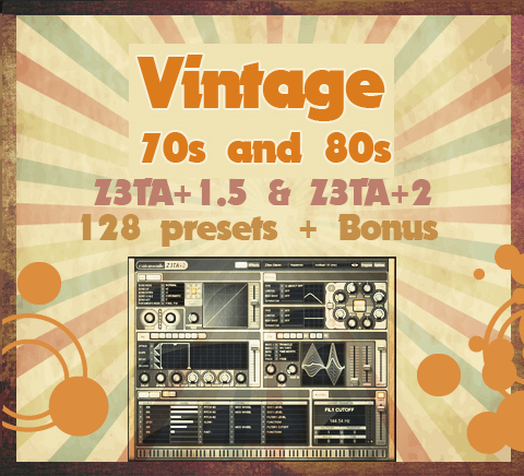 Vintage 70s and 80s