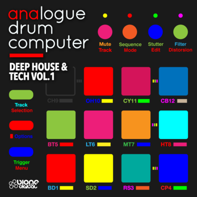 Analogue Drum Computer – Deep House and Tech Vol.1