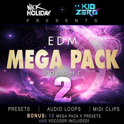 EDM Mega Pack Vol. 2