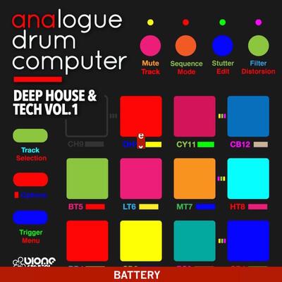 Deep House and Tech Vol.1 (Battery Kits)