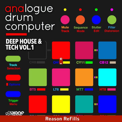 Deep House and Tech Vol.1 (Reason ReFill)