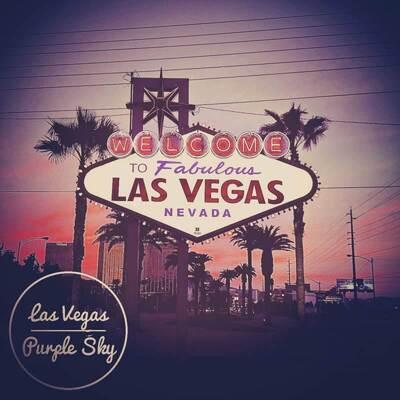Las Vegas Purple Sky