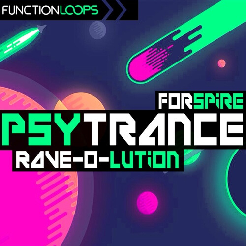 Psytrance Rave-O-Lution for Spire
