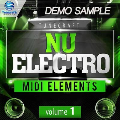 Tunecraft Nu Electro Midi Elements Vol.1 Demo - Free MIDI files