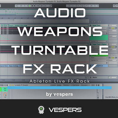 Audio Weapons Turntable FX Rack