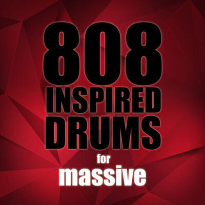 808 Inspired Drums For Massive