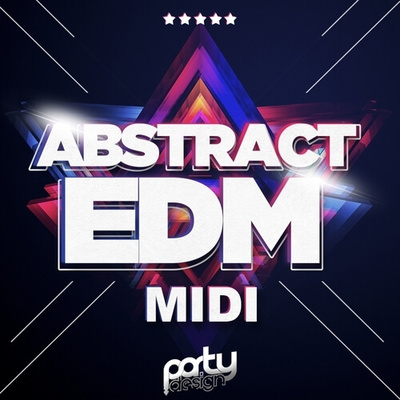 Abstract EDM MIDI Loops