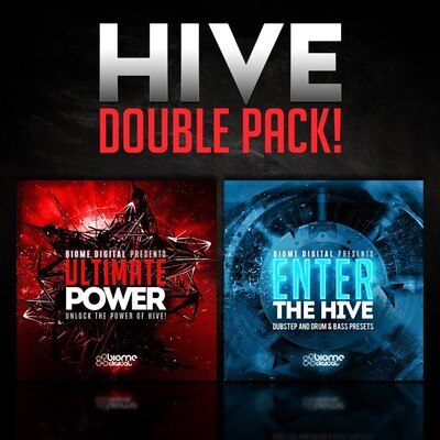 Hive Double Pack (160 Dance Music Presets for Hive!)