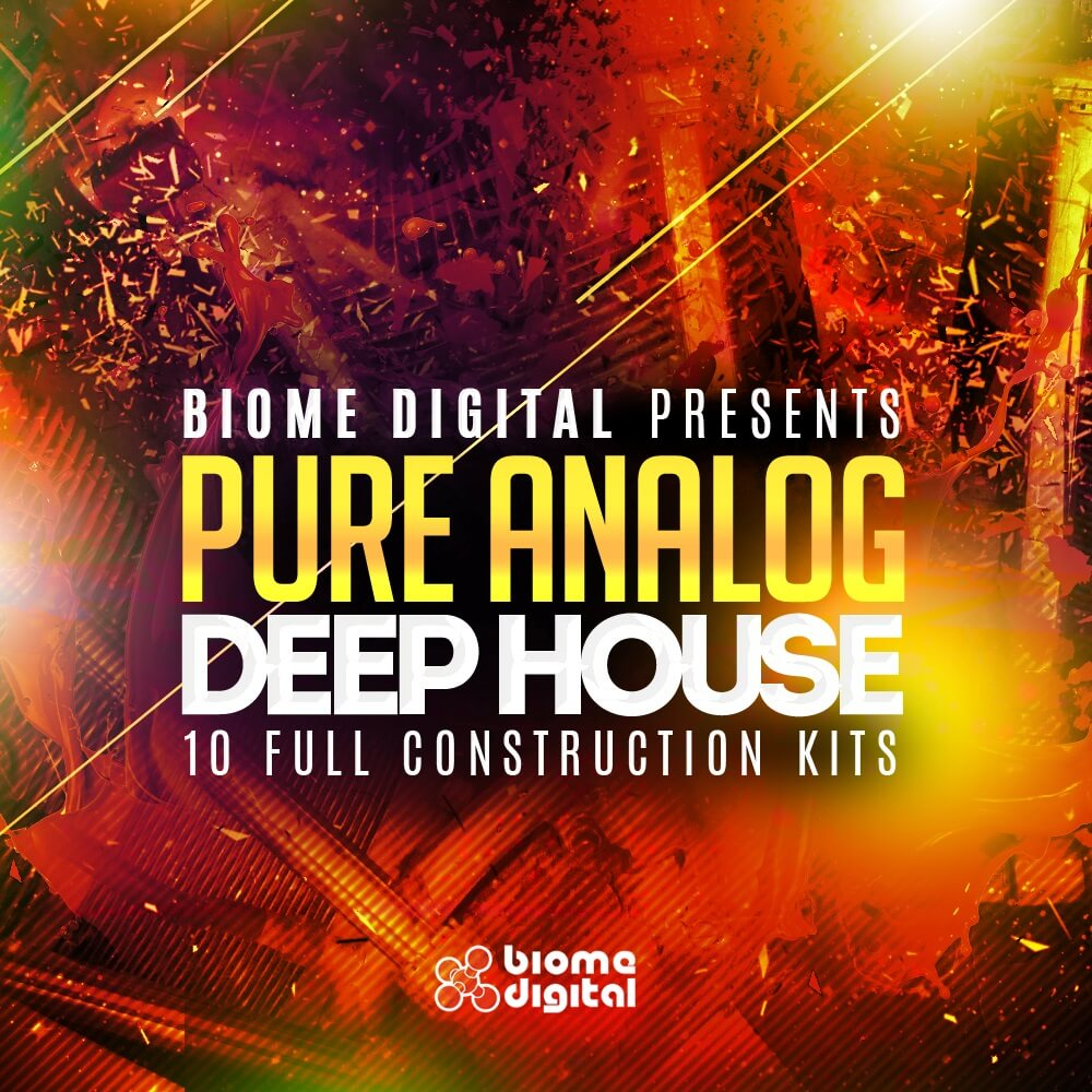 Pure Analog Deep House – 10 Full Construction Kits - Reason ReFill