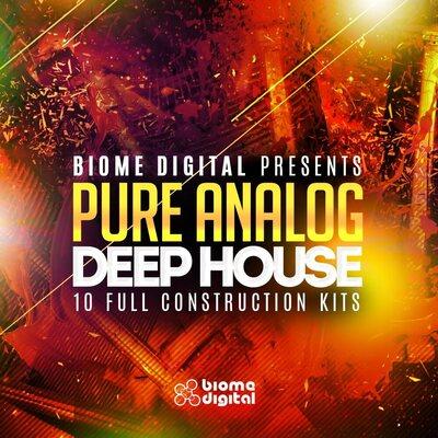 Pure Analog Deep House Construction Kits - Live Pack