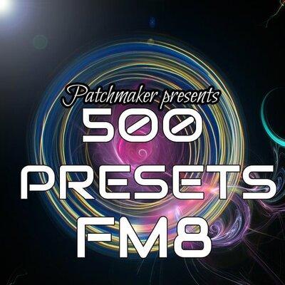 500 PRESETS:FM8