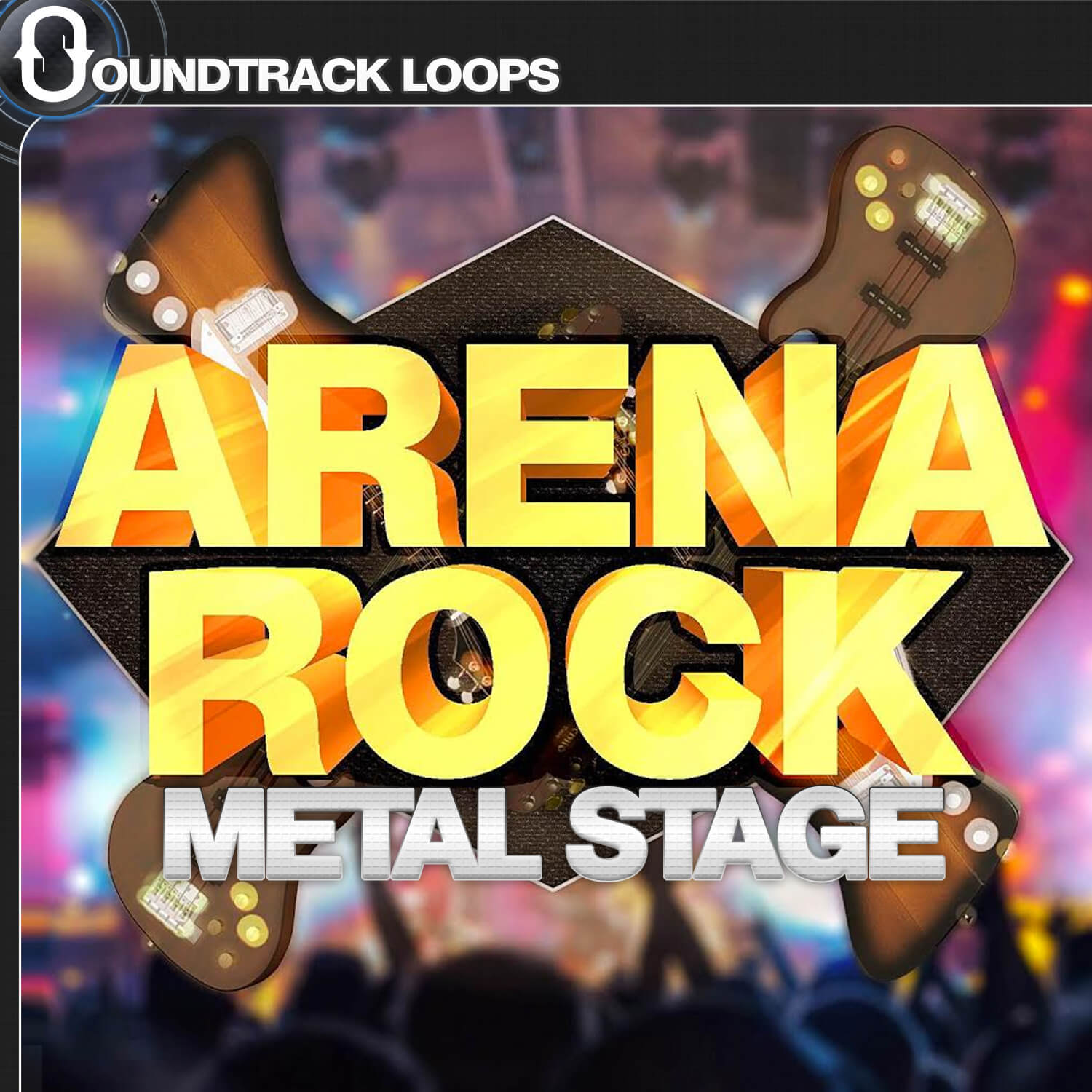 Arena Rock Metal Stage - Hard Rockin' Loops and SoundPack.