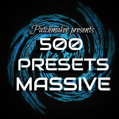 500 presets: Massive