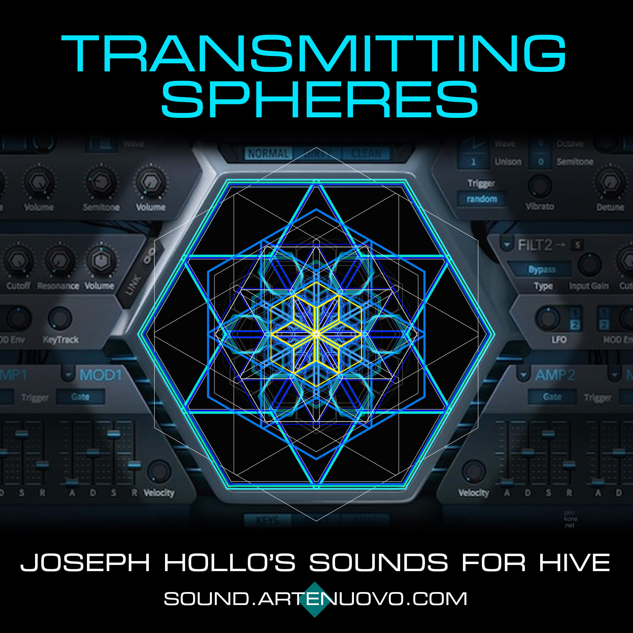 Transmitting Spheres for Hive by Joseph Hollo