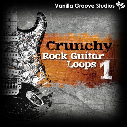 Crunchy Rock Guitar Loops Vol 1