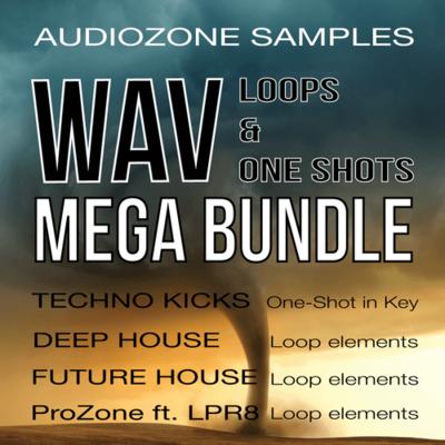WAV Loops & OneShots Mega Bundle