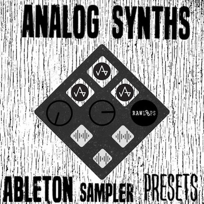 Analog Synths - Ableton Sampler Presets
