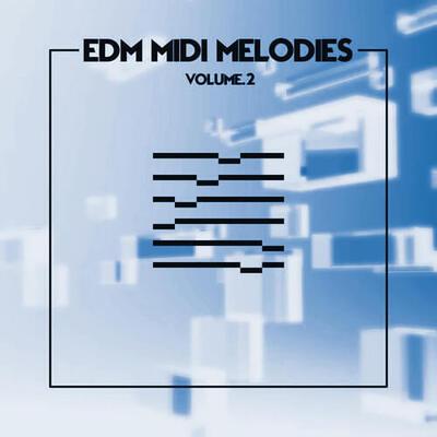 EDM MIDI Melodies Vol. 2