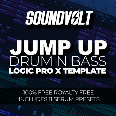 Jump Up DnB Logic Pro X Template