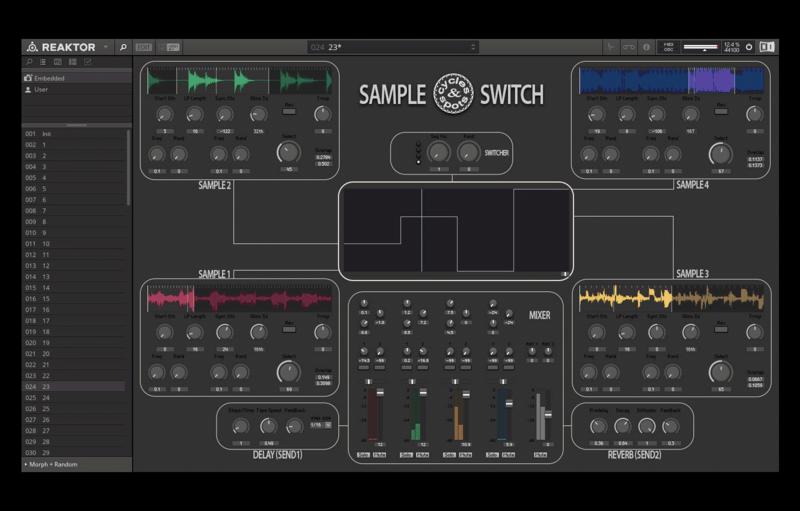 Reaktor Sample Switch