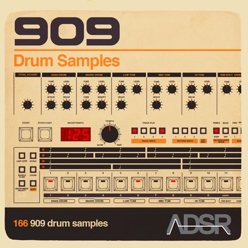 909 Drum Samples