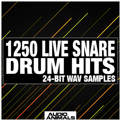 1250 Live Snare Drum Hits