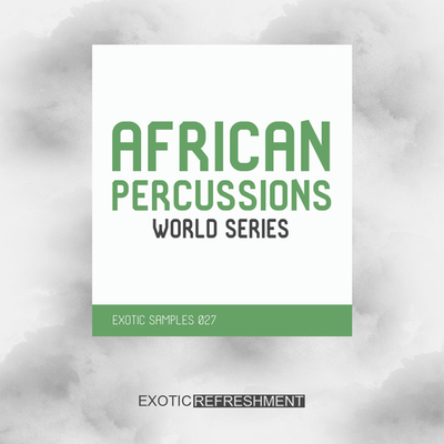 African Percussions - World Series