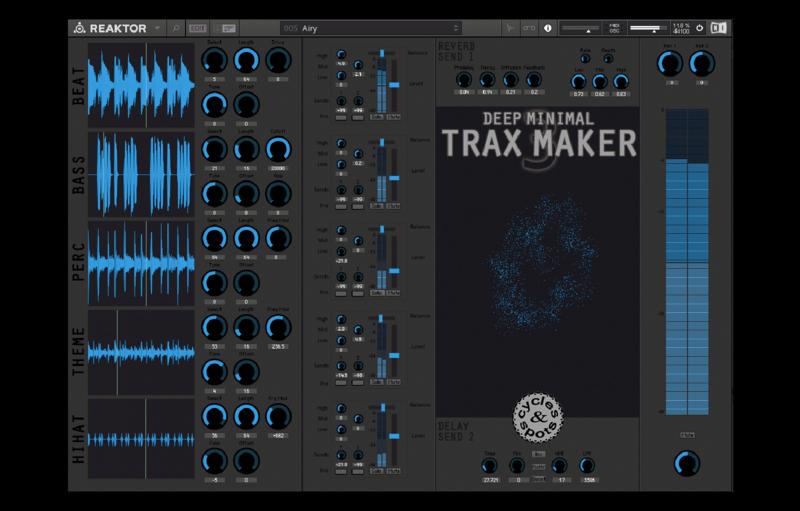 Deep Minimal Trax Maker 3