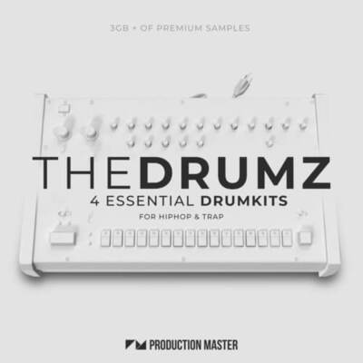 The Drumz - Essential Drumkits for Hip-Hop & Trap