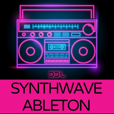 Synthwave Ableton Multi Template